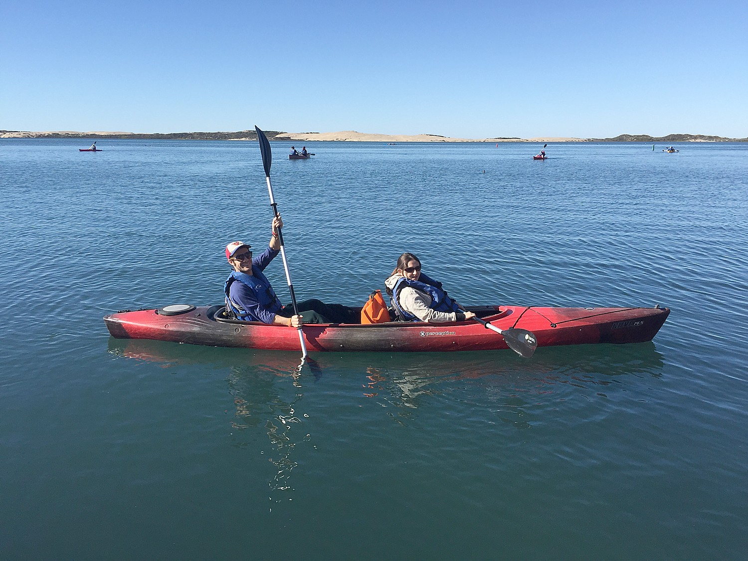 Kayaking in the Morro Bay National Estuary Preserve. Winter is birding season in the California coastal town on the Pacific Flyway, when more than 200 species can be sighted (photo by Dave E. Leiberman).