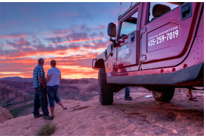 Moab Adventure Center offers active itineraries to explore to explore the Region's Red Rock wonders