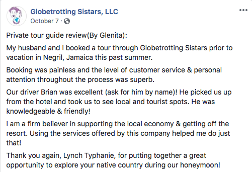 Private Tour Guide Review By Glenita