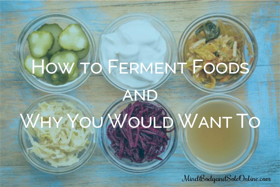 Fermented Foods Class
