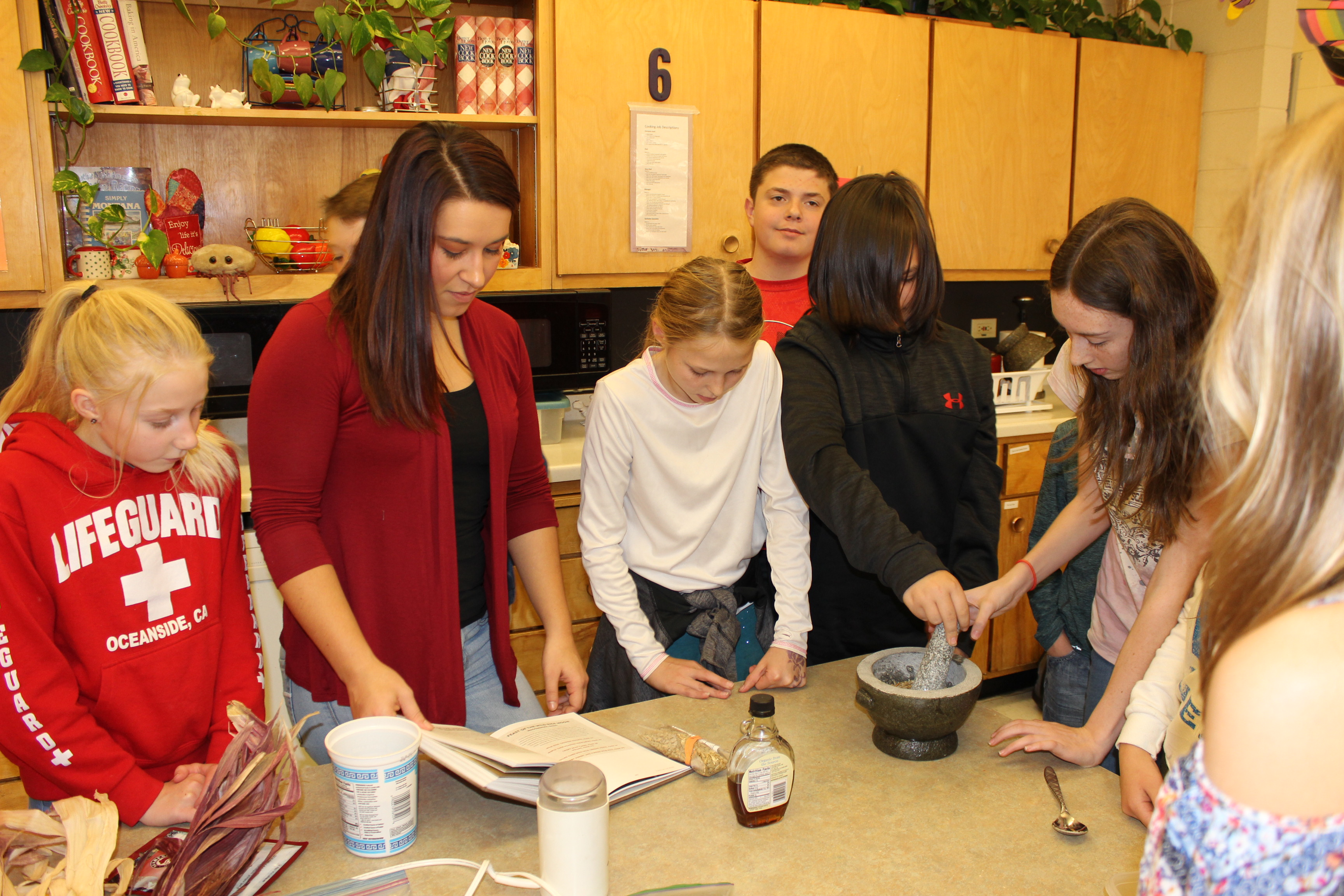 Consumer Science class at Kalispell Middle School