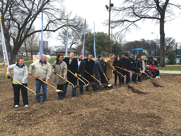 Groundbreaking held  for Ann Eisemann Inclusive Playground