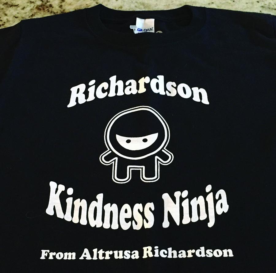 "Be a ""Kindness Ninja"" April 5-6"