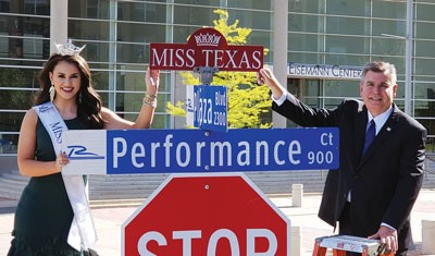 Miss Texas Sign Toppers Installed
