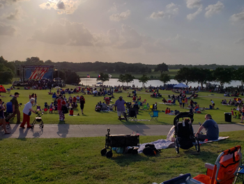 Richardson Celebrates Independence Day at Breckinridge Park
