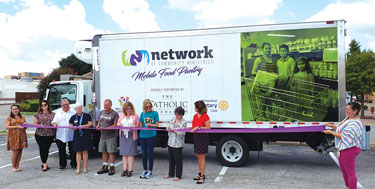 Network of Community Ministries Rolls Out New Mobile Food Pantry