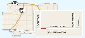 New Spring Valley Road Closures Begin Next Week