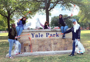 Several Groups Clean Up Parks, Creeks