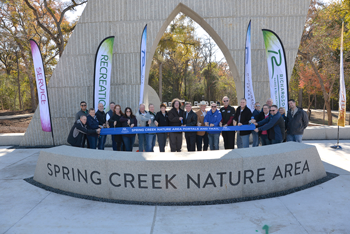 Spring Creek Nature Area Portals Officially Open
