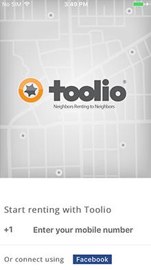 Toolio Screen