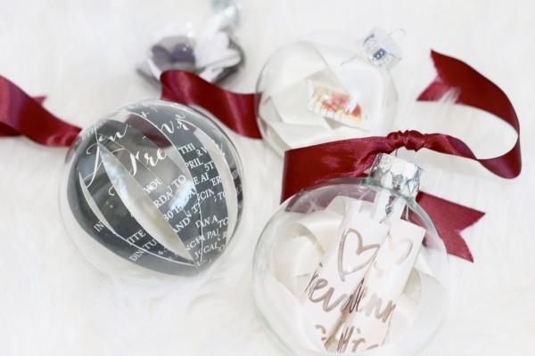 DIY Wedding Ornaments