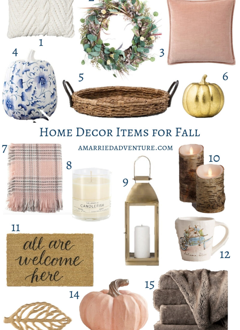 Home Decor Items for Fall | A Married Adventure