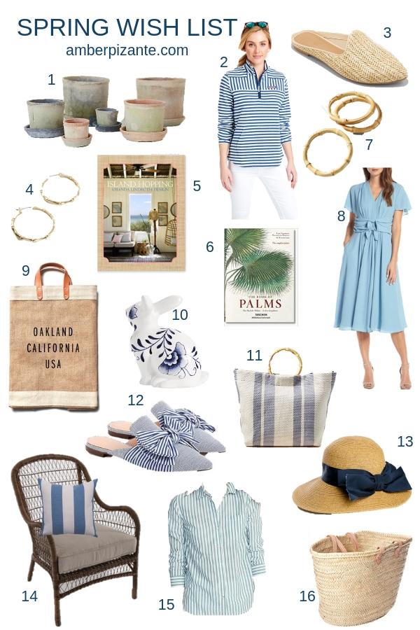 Spring Wish List | amberpizante.com