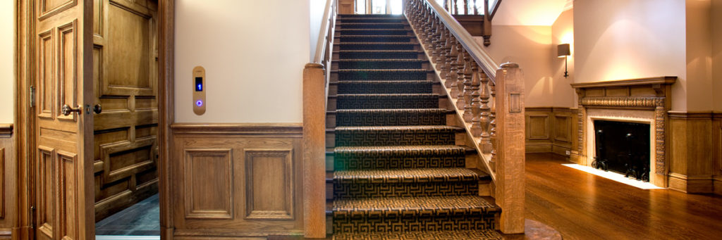 Crown Elevator is an authorized dealer for Cambridge Elevating Residential Elevators