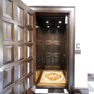 Custom built home elevator by Crown Elevator Freehold NJ