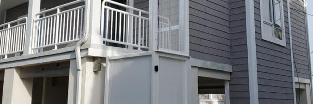 vertical platform lift installed by Crown Elevator, NJ