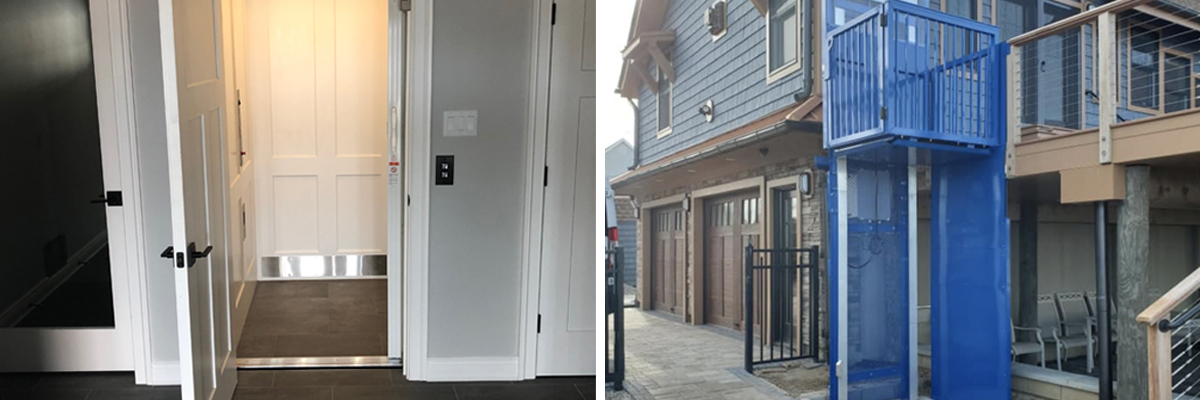 Crown Elevator installations at the Jersey Shore