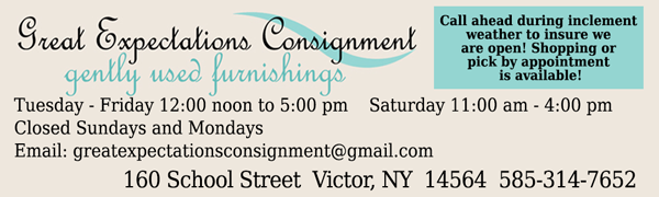 Furniture Consignment Victor – Pittsford New York