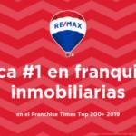 RE/MAX es la marca número 1 de las franquicias inmobiliarias por 11 años consecutivos