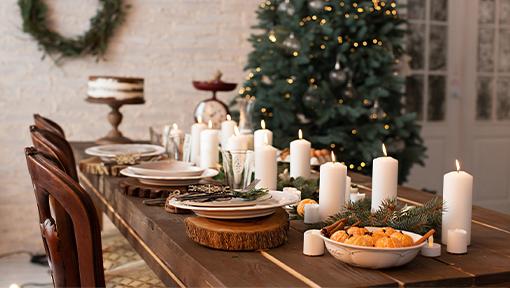 Cuatro formas de hacer que una casa nueva se sienta como tu hogar en las festividades