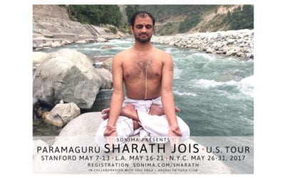 An Interview with R. Sharath Jois