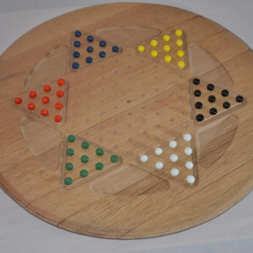 Chinese Checkers Barrel End 6