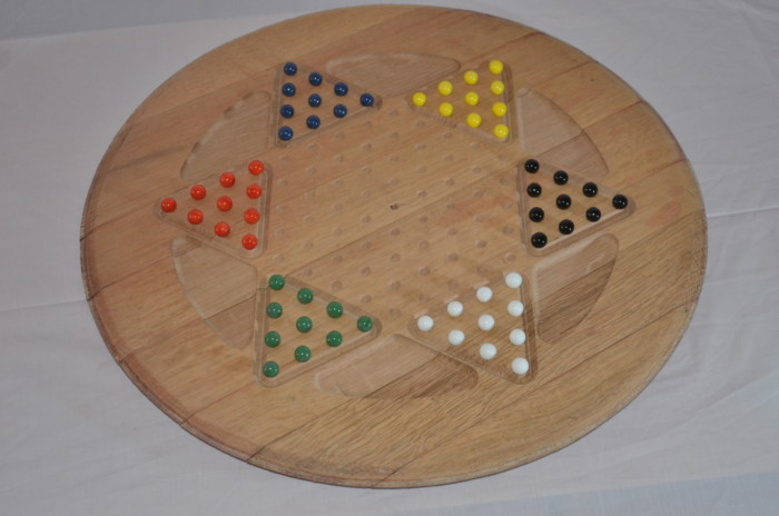 Chinese Checkers Barrel End 1