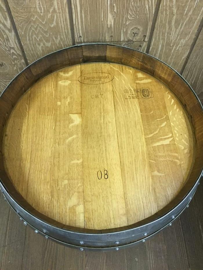 Barrel End Side Table 1