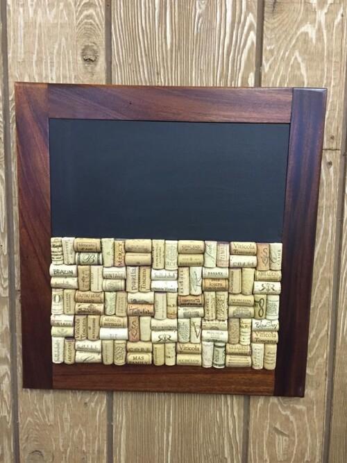 Chalkboard/ Cork Board Combo 14