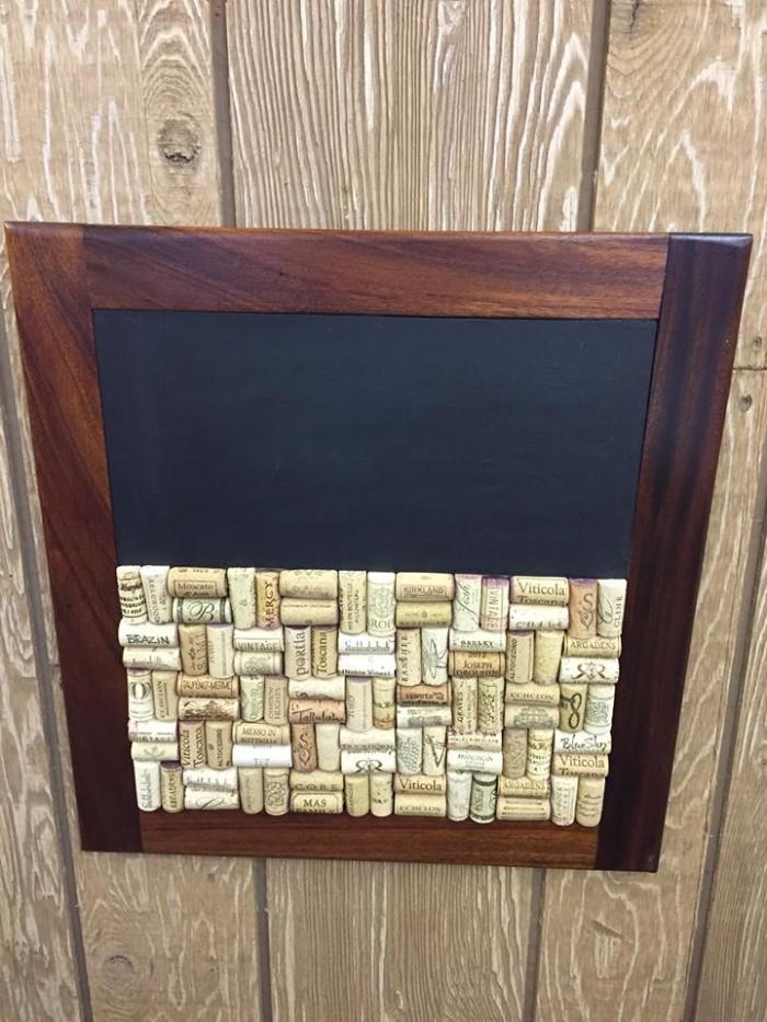 Chalkboard/ Cork Board Combo 3