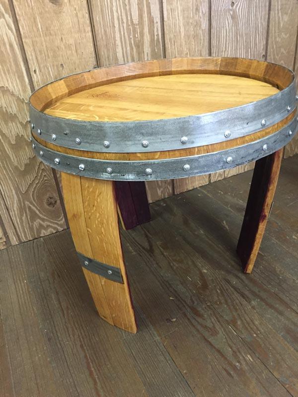 Barrel End Side Table 4