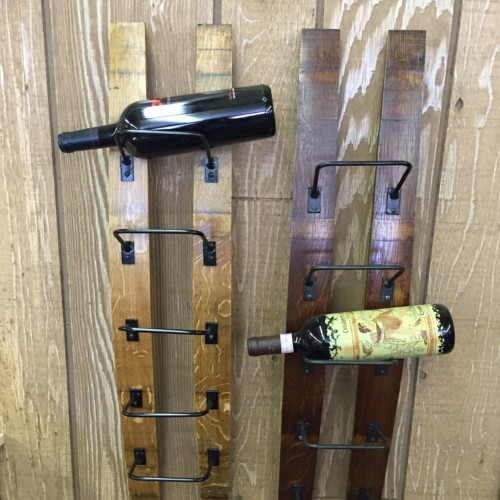 Double Barrel Stave Wine Rack 10