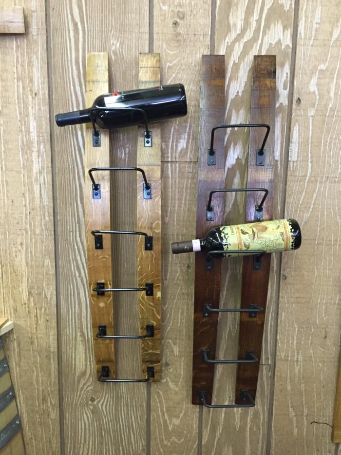 Double Barrel Stave Wine Rack 5