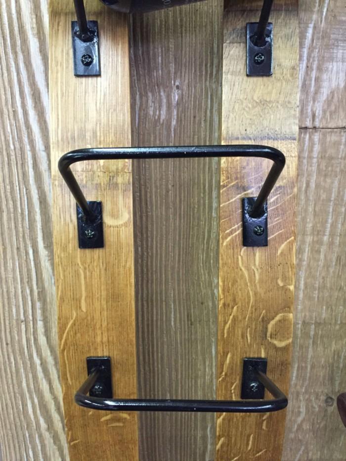 Double Barrel Stave Wine Rack 4