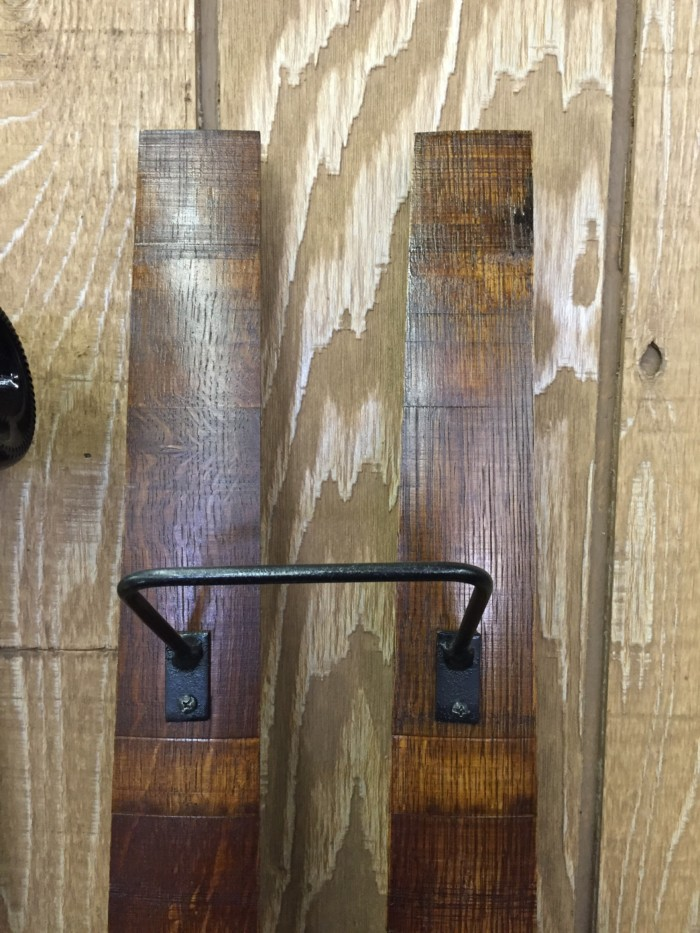 Double Barrel Stave Wine Rack 3