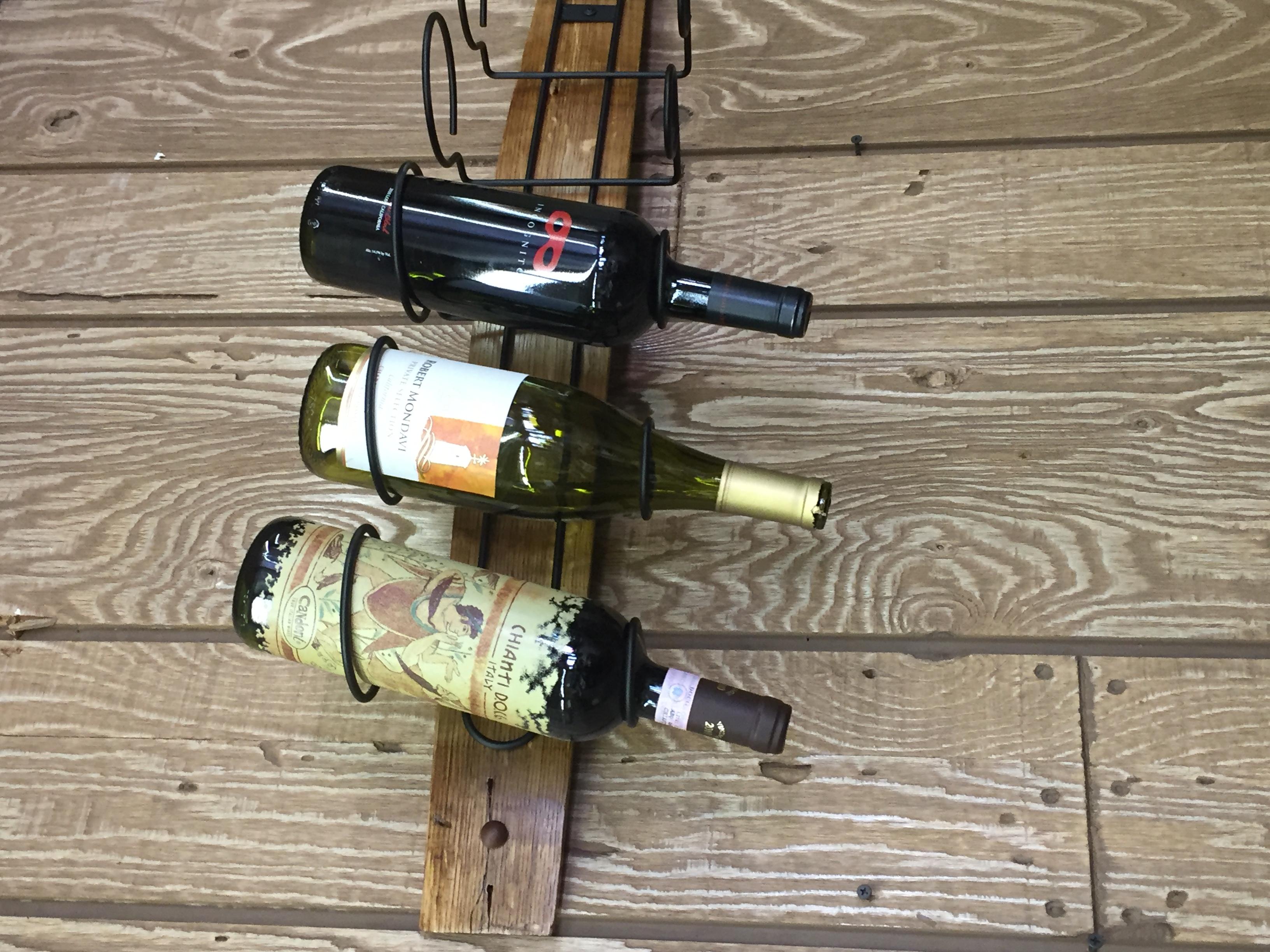 Single Barrel Stave Wine Rack 9
