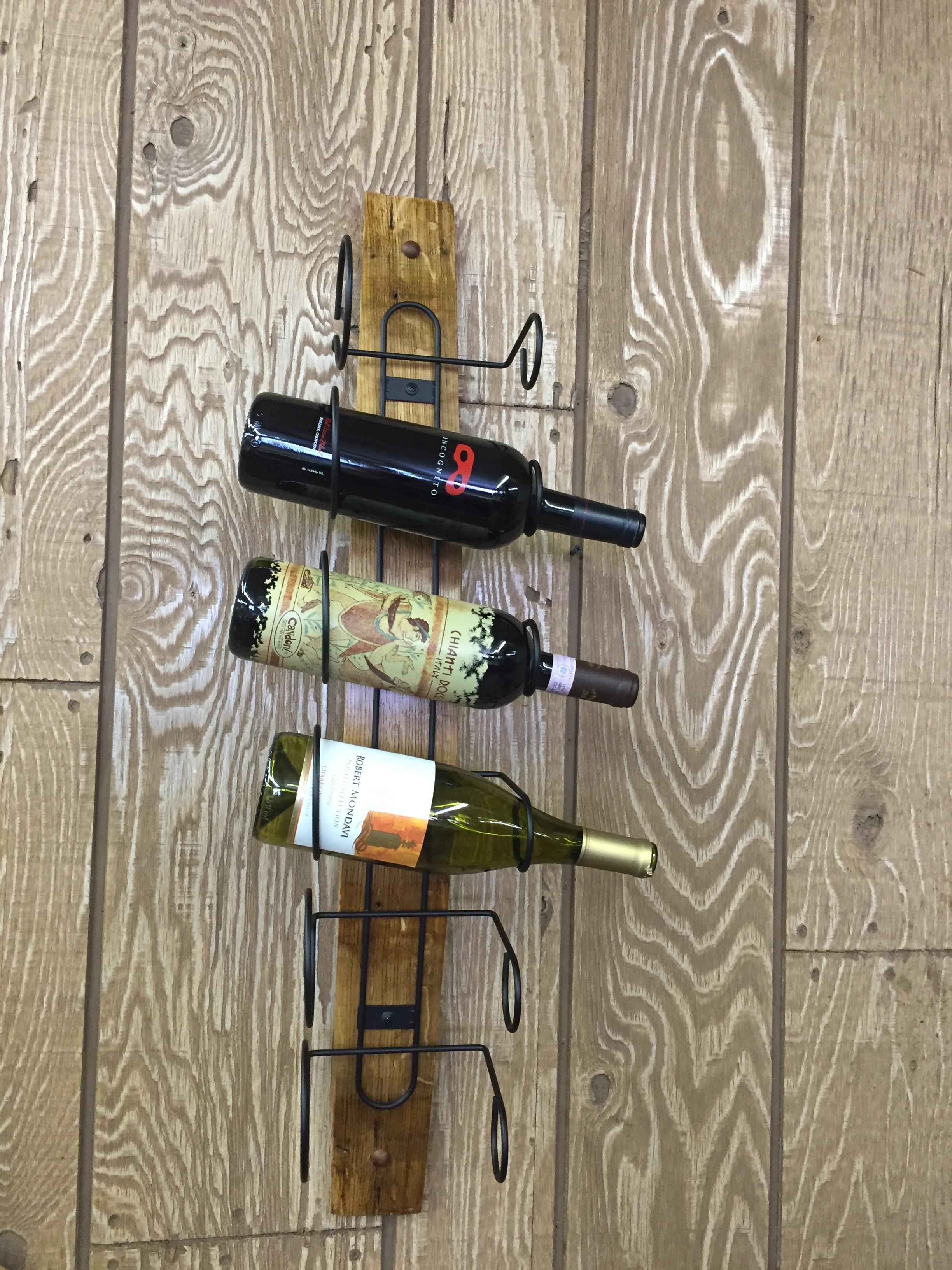 Single Barrel Stave Wine Rack 8