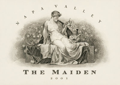 """The Maiden 16"""" Lazy Susan 4"""