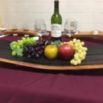 wine serving platter