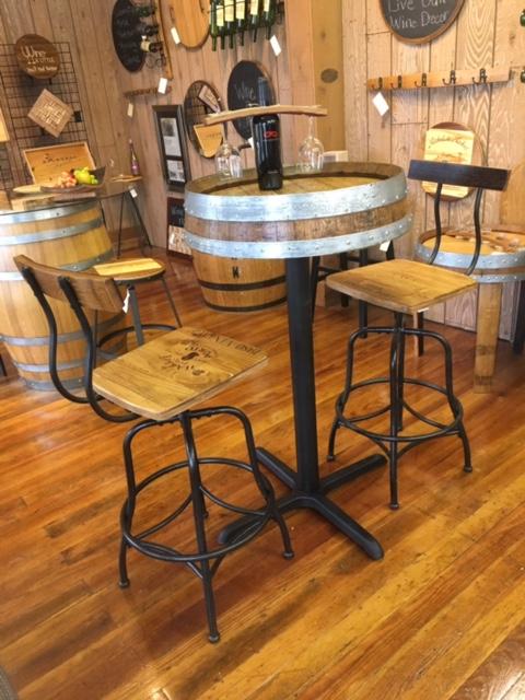 Barrel End Bistro Table 11