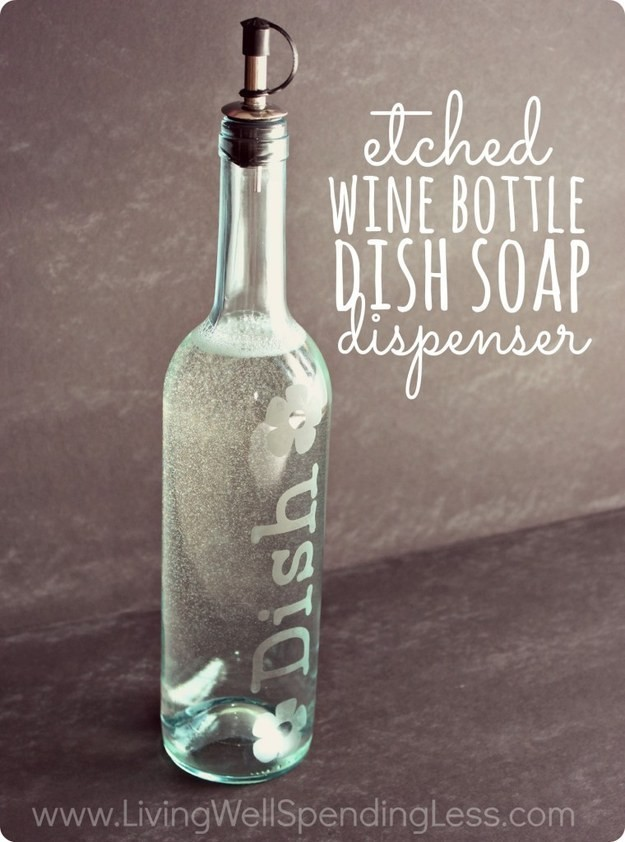 etched wine bottle tutorial