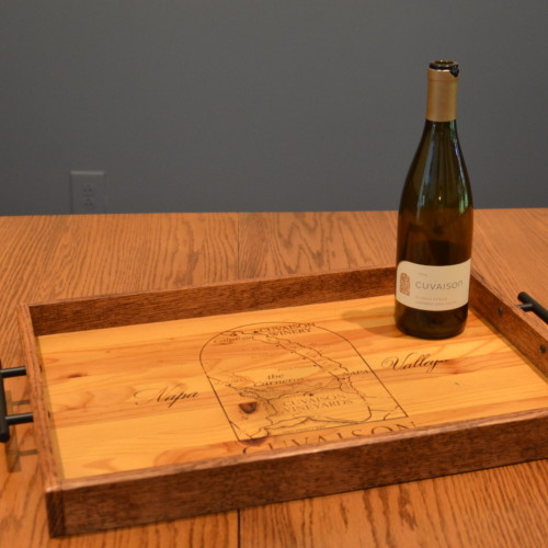 Cuvaison Winery Tray 8