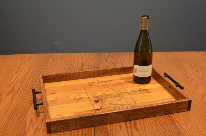 Cuvaison Winery Tray 1