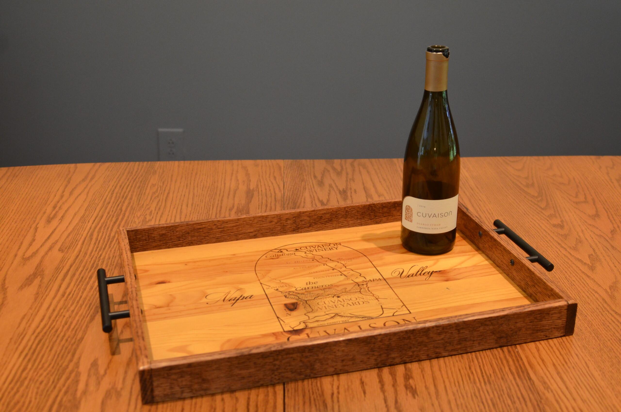Cuvaison Winery Tray 1