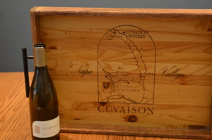 Cuvaison Winery Tray 6