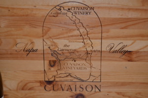 Cuvaison Winery Tray 5