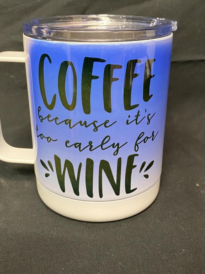 Stainless Steel Coffee Mug 3