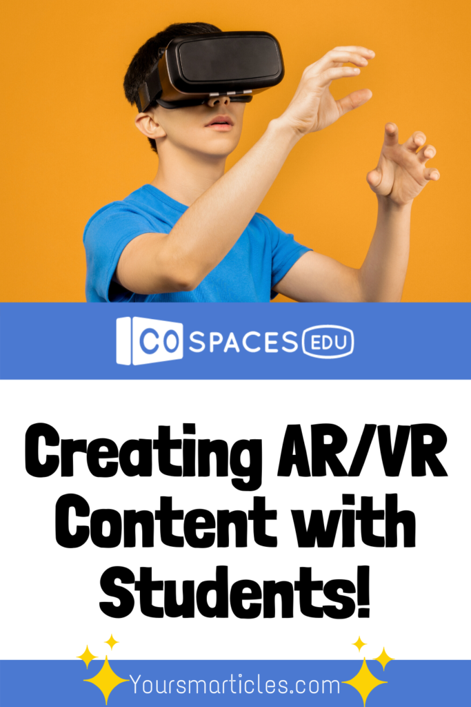 Take a look that this blog post that shows how to create AR/VR Content with CoSpacesEDU