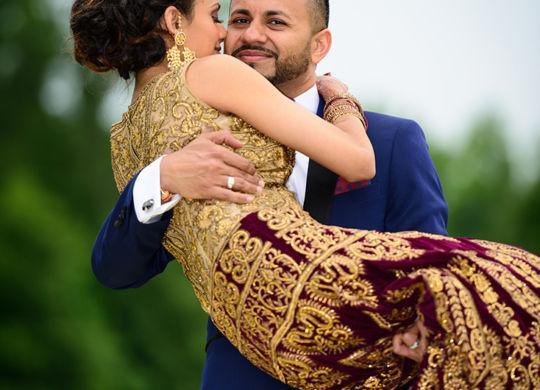 Indian Wedding at Garden Falls in Monroe Township, NJ