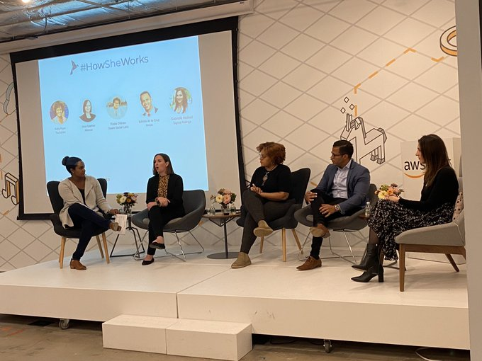panelists at How She Works